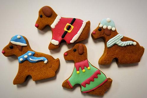 Santa Claus Dogs - Organic Pumpkin &  Peanut Butter WS