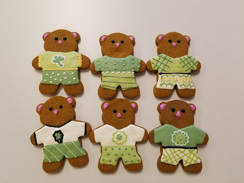 Best Dressed St Paddy Bear - Organic Pumpkin & Peanut Butter
