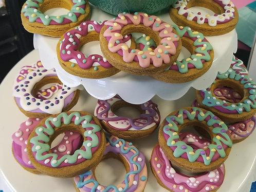 Artisan Donuts - Peanut Butter & Pumpkin W