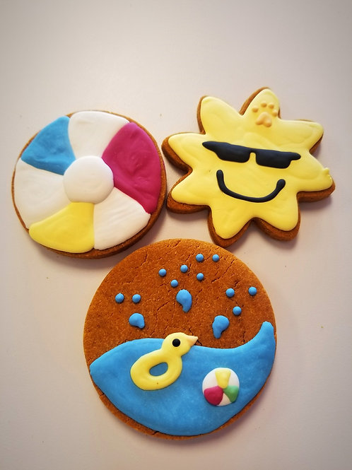 Pool Party Collection - Organic Pumpkin & Peanut Butter