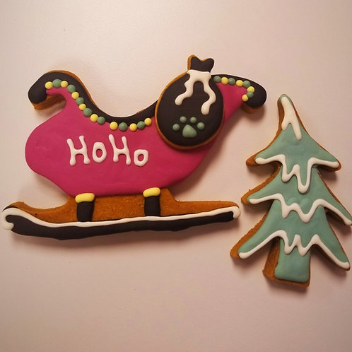Santa's Sleigh -Organic Pumpkin & Peanut Butter