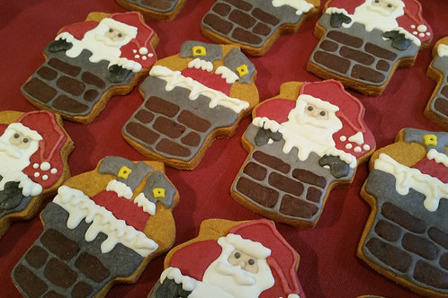 Santa in Chimney - Organic Pumpkin & Peanut Butter WS
