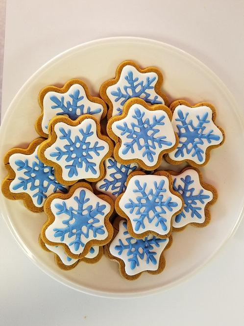 Perfect Snowflakes - Organic Peanut Butter & Pumpkin W