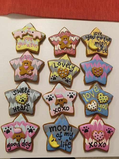 Star Cookies - Organic Pumpkin & Peanut Butter