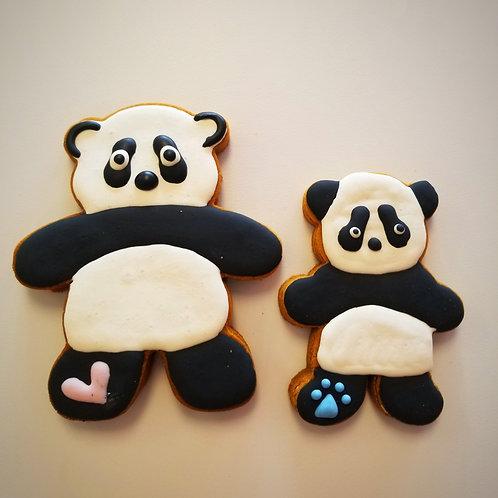 Precious Panda Bear - Organic Pumpkin & Peanut Butter