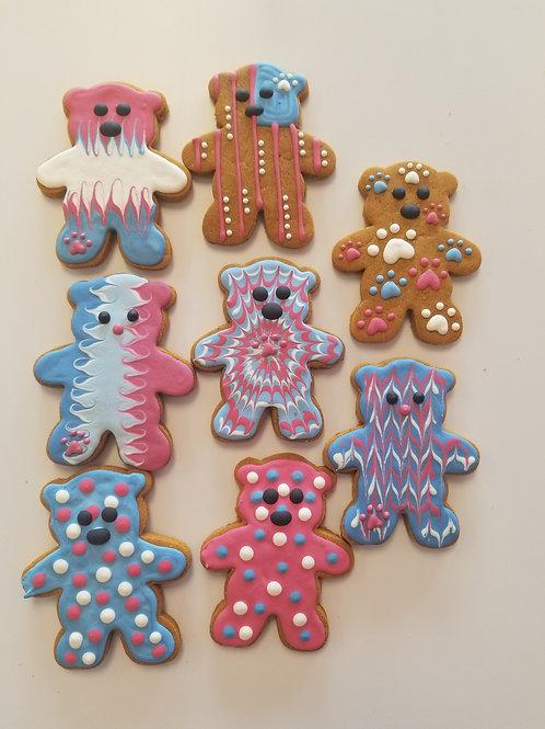 Patriotic Bears - Organic Pumpkin & Peanut Butter