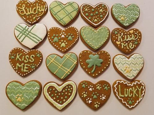 St Paddy Hearts - Organic Pumpkin & Peanut Butter