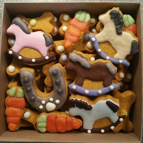 Pony Mini Bone Box - Peanut Butter Pumpkin