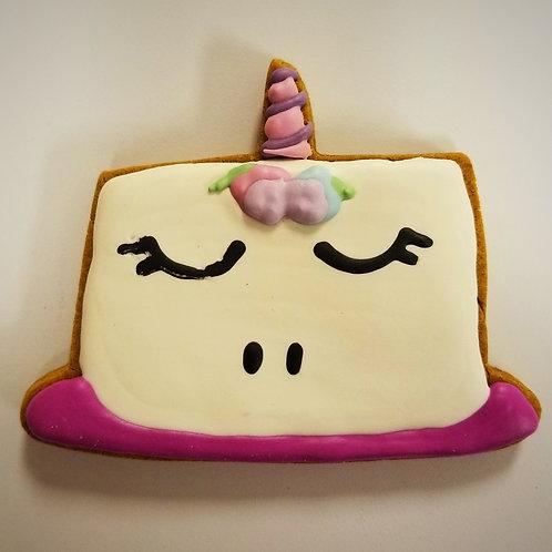 Unicorn Birthday Cake Treat - Organic Pumpkin & Peanut Butter WS