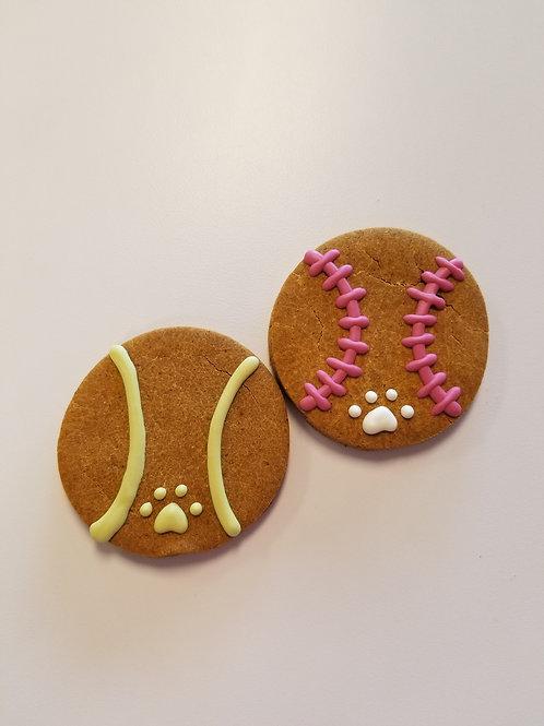 Simple Baseballs & Tennis Balls - Organic Pumpkin & Peanut B