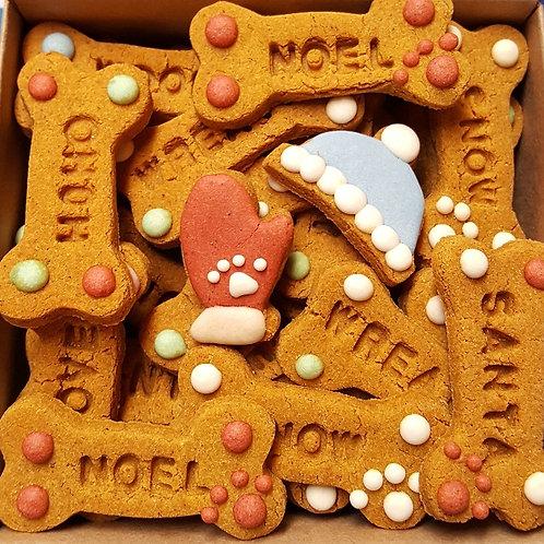 Christmas Conversation Bones Pumpkin Peanut Butter