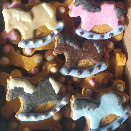 Pony Mini Bone Box - Peanut Butter Pumpkin