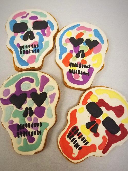 Mosaic Sugar Skull Treats
