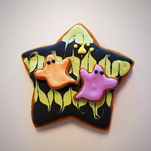 Halloween Stars - Organic Pumpkin & Peanut Butter