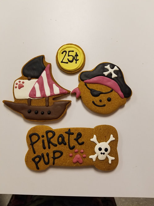 Pirate Collection - Organic Pumpkin & Peanut Butter
