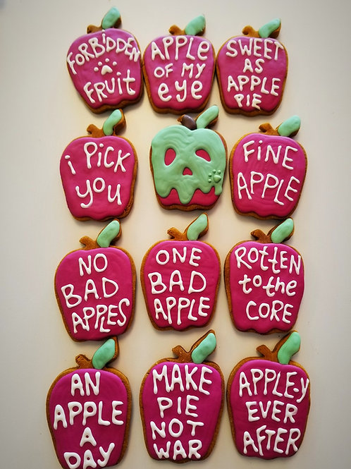 Adorable Apples - Organic Pumpkin & Peanut Butter