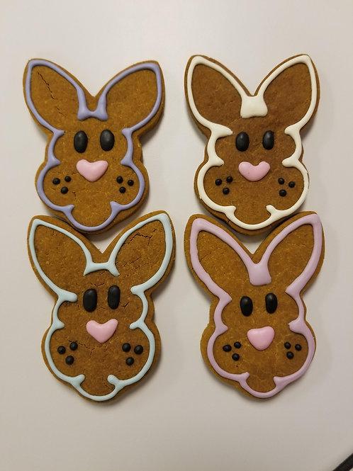 Easter Bunny - Organic Pumpkin & Peanut Butter