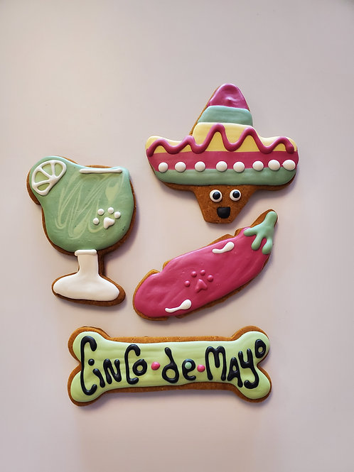 Cinco de Mayo Cookie Collection