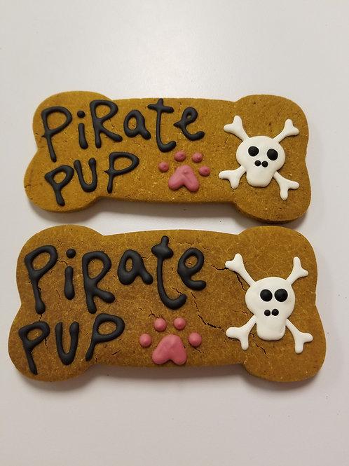 Pirate Large Bone - Organic Pumpkin & Peanut Butter