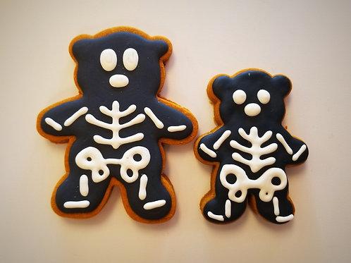 Spooky Skeleton Bear - Organic Pumpkin & Peanut Butter