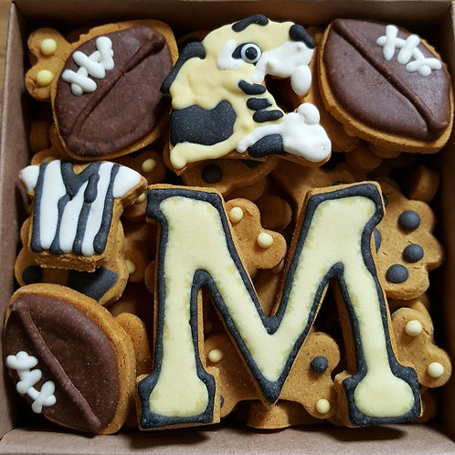 Mizzou Fan Mini Bone Box - Pumpkin Peanut Butter