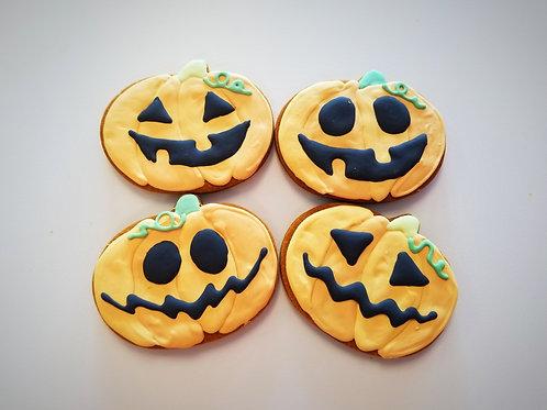 Jack O'Lanterns - Organic Pumpkin & Peanut Butter