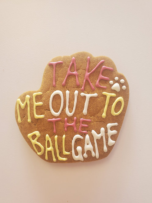 Take me out to the Ball Game Cookie