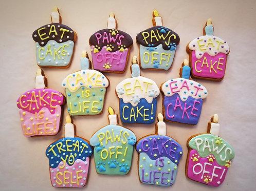 Conversation Cup Cake Cookies - Organic Pumpkin & Peanut Butter