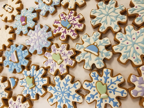 Snowflakes - Organic Peanut Butter & Pumpkin