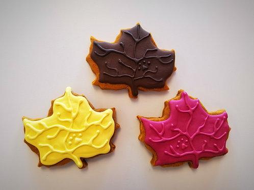 Mostly Maple Leaf - Organic Pumpkin & Peanut Butter