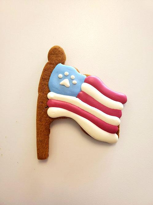 American Flag - Organic Pumpkin & Peanut Butter