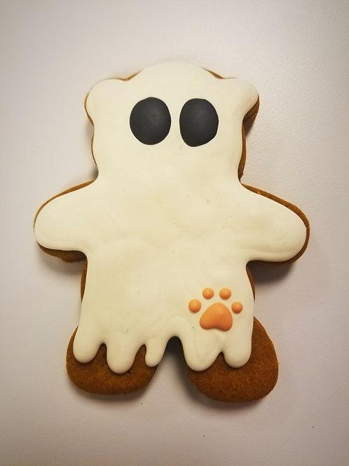 Ghouly Ghost Bear - Organic Pumpkin & Peanut Butter