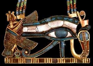 Horovo oko, symbol školy Oka Boha Hóra