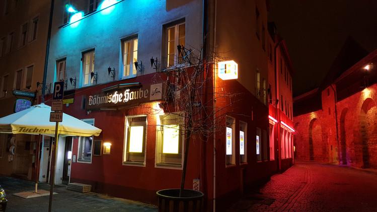 Böhmische Haube, Ottostrasse Ecke Frauentormauer