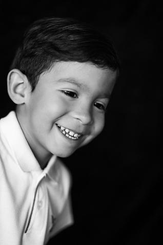 Portrait of 4 year old boy