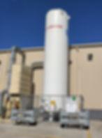 30 tonne CO2 vessel