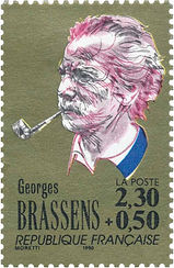 82. TIMBRE BRASSENS - MORETTI -1990.jpg