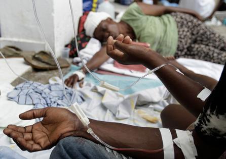 UN Struggles to Stem New Rise in Haiti Cholera Cases