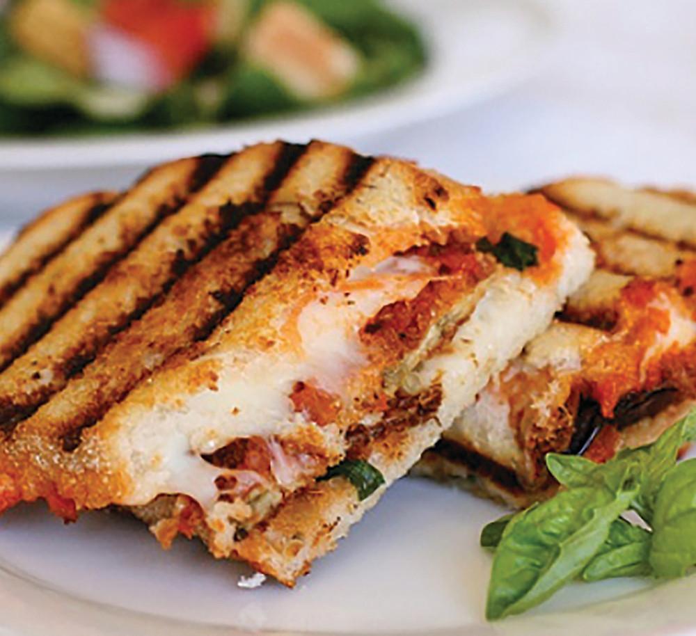Dominex Eggplant Panini Sandwich