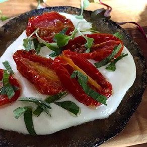 Dominex Eggplant Cutlets with Whipped Feta & Tomatoes