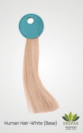 White Human Hair Used as Base