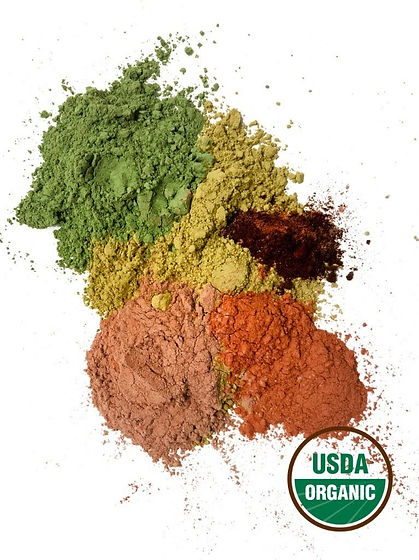 USDA organic hair color - Natural hair d