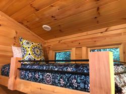 tiny cabin loft
