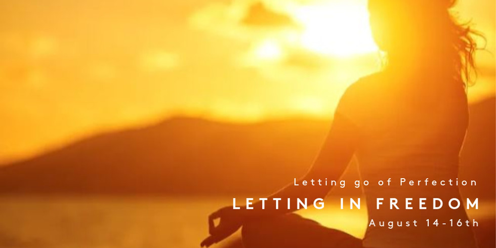 Letting go of perfection, letting in freedom