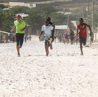 Haiti running