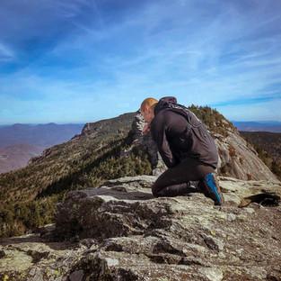 Prayer time on the mountain