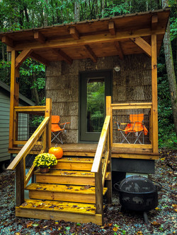 tiny cabin grill