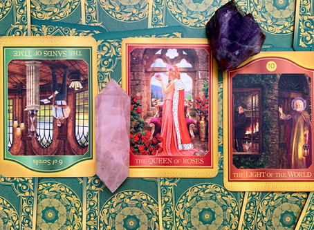 Weekly Tarot: Take Your Time, Self-Love and Inner Wisdom