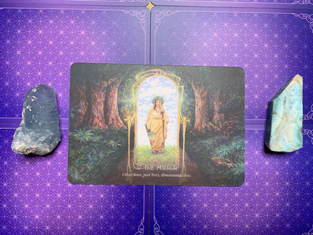 Weekly Oracle Card Pull: Hidden Worlds