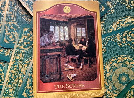 Weekly Tarot: Number 12: The Scribe